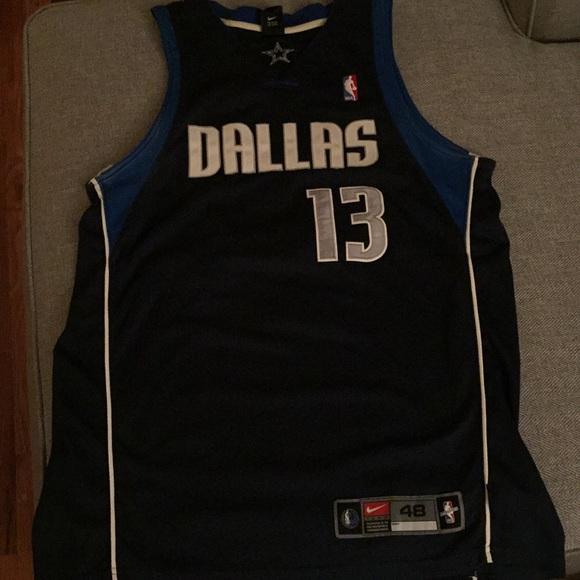 new product f5651 a5867 Steve Nash Dallas Mavericks away jersey